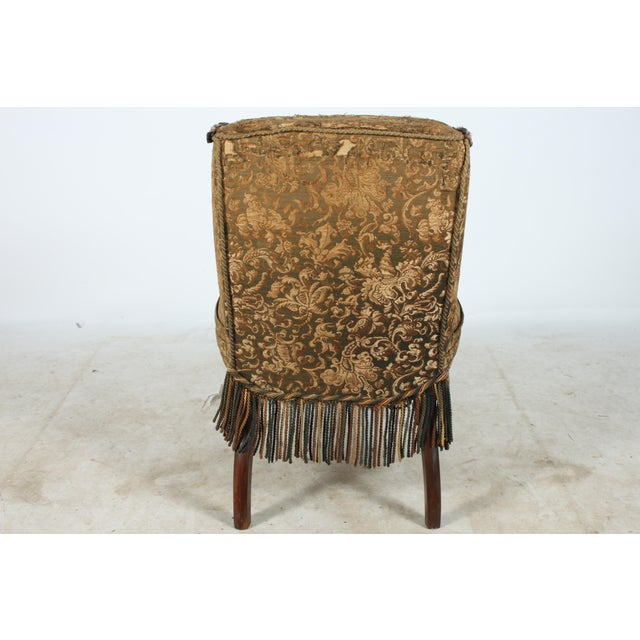 Early 1900s Boudoir Style Chair - Image 4 of 5