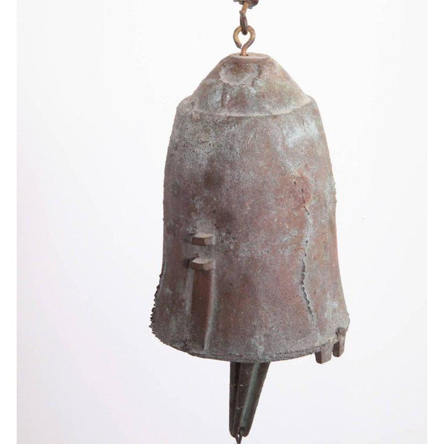 Paolo Soleri Early Paolo Soleri Wind Bell in Cast Bronze For Sale - Image 4 of 5