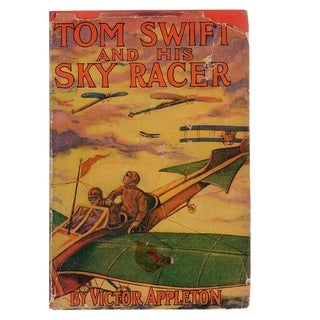 "1911 ""Tom Swift and His Sky Racer"" Collectible Book For Sale"