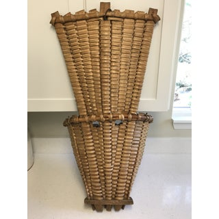 Early 1800's Antique Grape Harvest Basket Preview