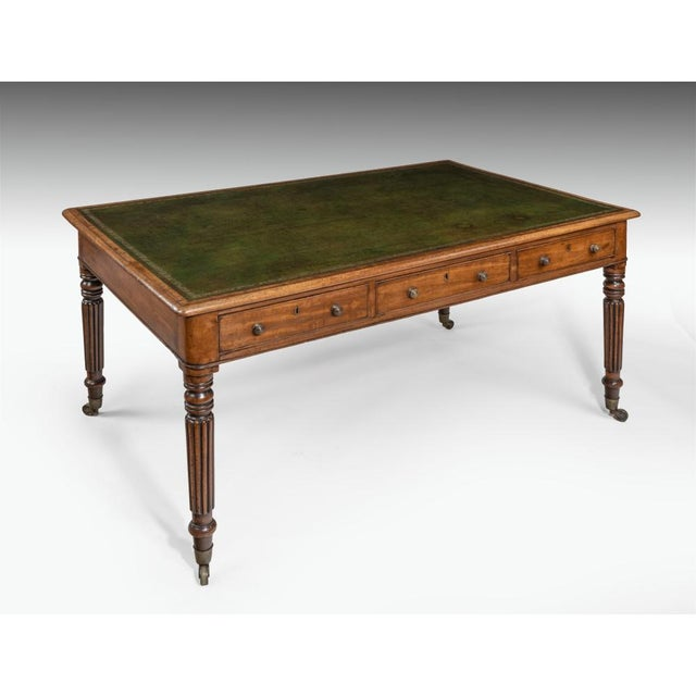 A George III Writing Table, Circa 1810 For Sale In Charleston - Image 6 of 6