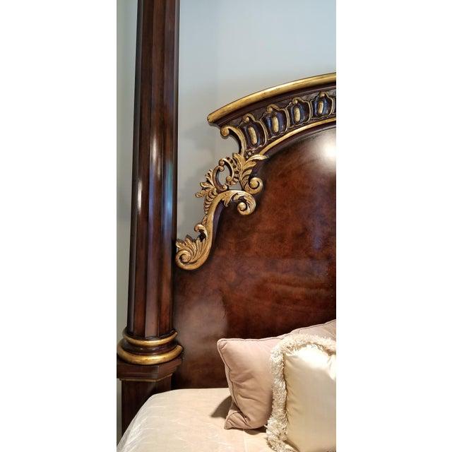 Traditional Traditional Henredon Arabesque Bedframe For Sale - Image 3 of 13