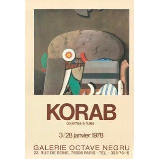 1978 Karl Korab - Vintage French Gallery Poster For Sale