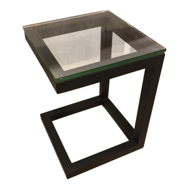 Crate & Barrel Parsons End Table - Image 1 of 3