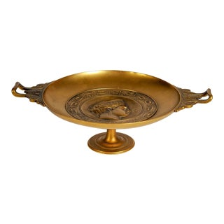19th Century Bronze Bowl by Barbedienne For Sale
