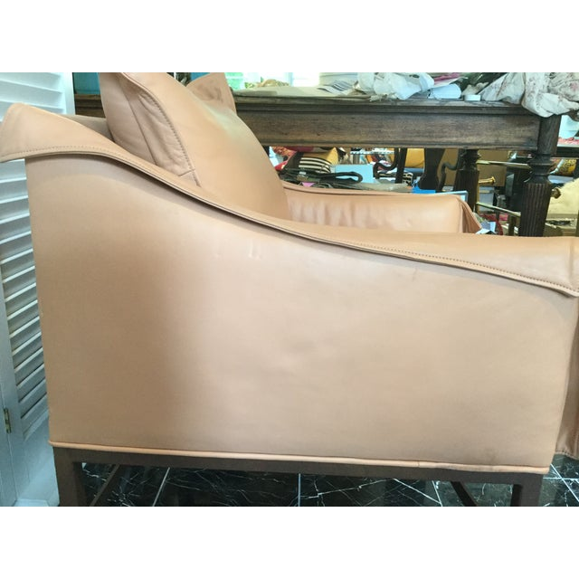 1990s Vintage Leather Chairs- a Pair For Sale - Image 12 of 13