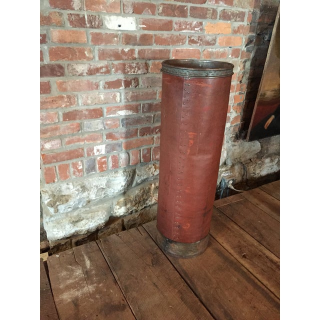Textile Shipping Tube Container - Image 3 of 3