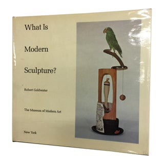 """1969 """"What Is Modern Sculpture?"""" Museum of Modern Art Book For Sale"""