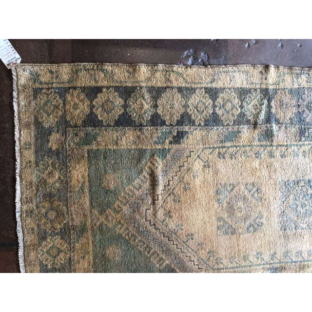 """Antique Turkish Wool Oushak Prayer Rug. Hand-woven in Turkey. Measures at 3'6"""" x 5'10"""" A prayer rug or prayer mat is a..."""