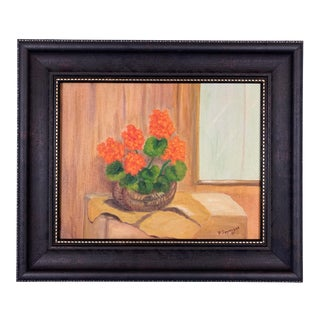 1975 Still Life Painting For Sale