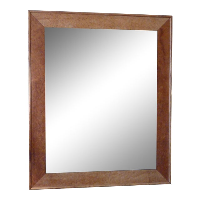 19th C. Birdseye Maple Mirror For Sale