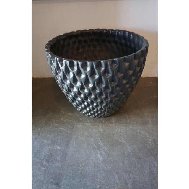 Large Double Cone Bisque Planter by La Gardo Tackett For Sale In Palm Springs - Image 6 of 7