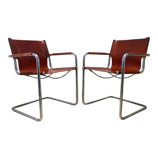Vintage Matteo Grassi Italian Bauhaus Style Cantilever Chair For Sale 58bebc7a48821
