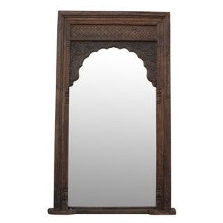 Imposing Arched Barmer Floor Mirror