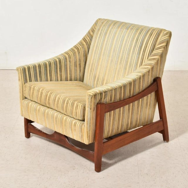 Mid-Century Modern Dux Inc. By Folke Ohlsson Glider Lounge Chair For Sale - Image 3 of 6