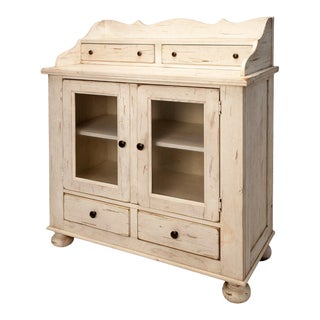 Attic Heirloom Jelly Cabinet For Sale