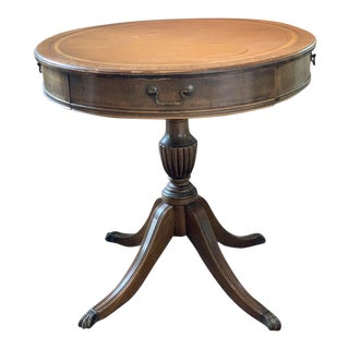 Large Federal Duncan Phyfe Drum Table For Sale