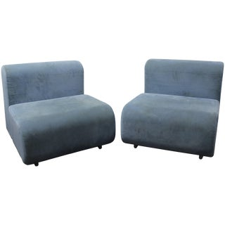 Pair of Suzanne Lounge Chairs by Kazuhide Takahama for Knoll For Sale