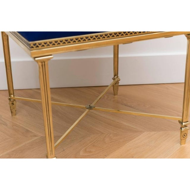 Single Italian Brass Stool - Image 3 of 5