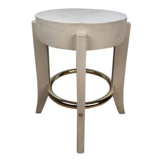 Karl Springer Albino Python Side Table