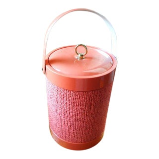 Woven Insulate Blush Modern Ice Bucket
