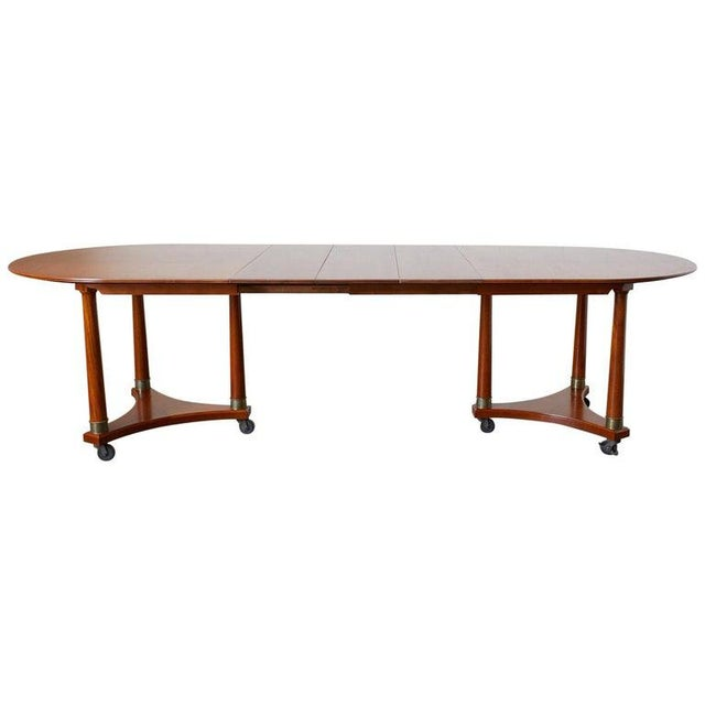 Swedish Biedermeier Style Library or Dining Table For Sale - Image 13 of 13