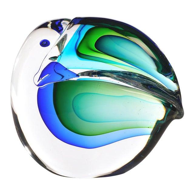 1960s Vintage Antonio Da Ros Murano Glass Toucan For Sale