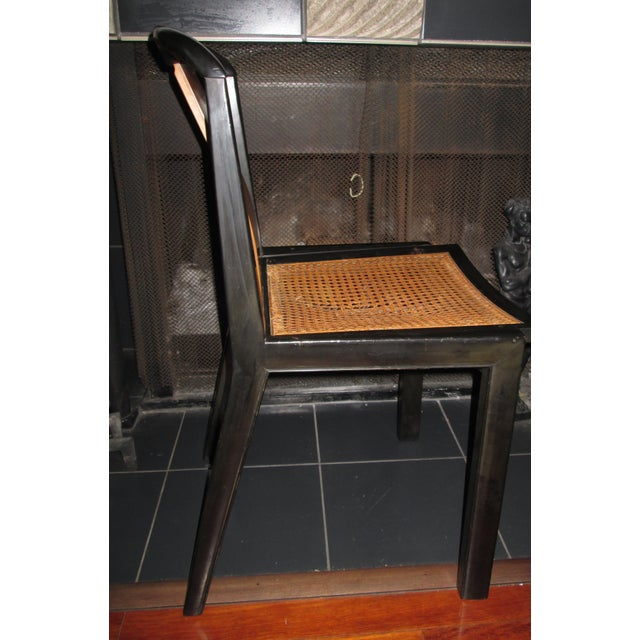 1950s Mid-Century Modern Michael Taylor for Baker Furniture Side Chair For Sale - Image 10 of 11