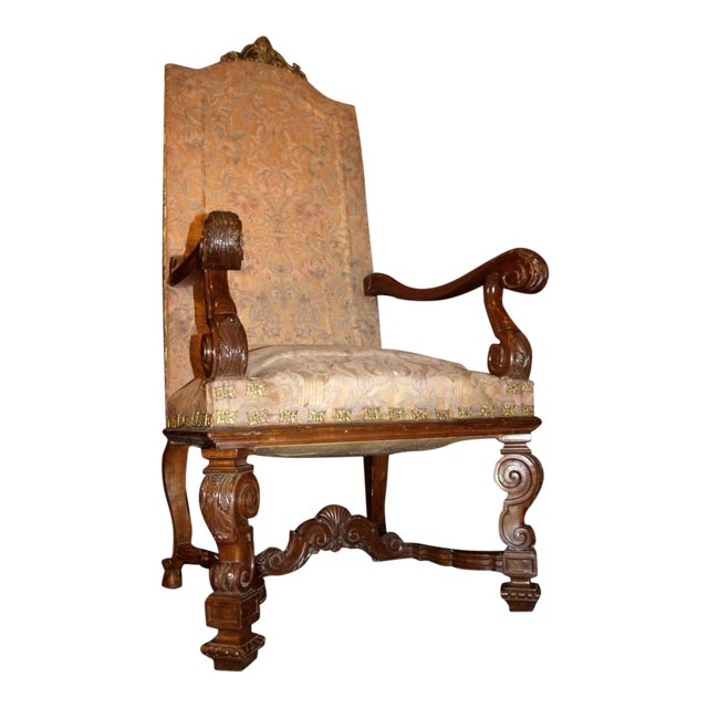 Antique Armchairs - Image 1 of 9
