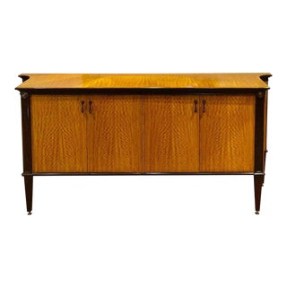 William Switzer French Style Modern Style Satinwood Sideboard