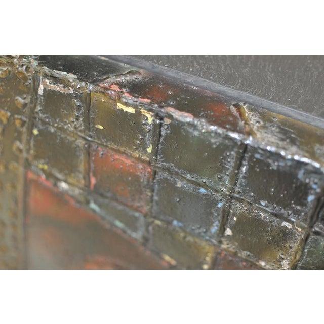 Paul Evans Welded Steel Cube Table For Sale In Boston - Image 6 of 8