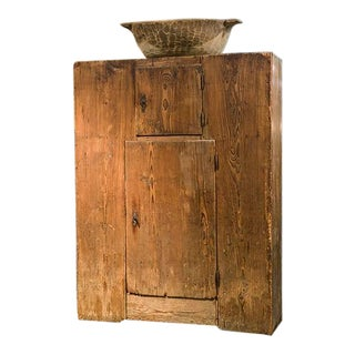 Italian Pine Armoire For Sale