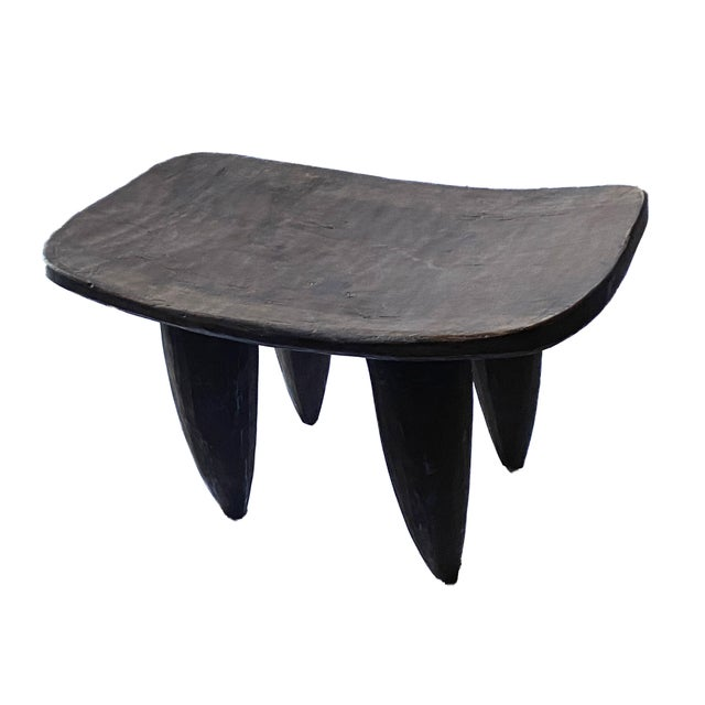 Vintage African Senufo Stool For Sale In New York - Image 6 of 8