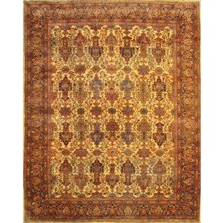 Pasargad Antique Persian Ferahan Rug - 10′ × 13′ For Sale