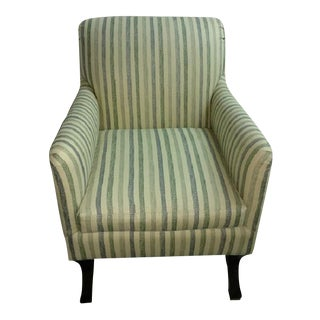 O. Henry House Striped Chair For Sale