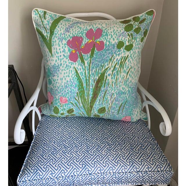 Pair of Paule Marrot Brunschwig Fils Custom Pillows For Sale - Image 12 of 13