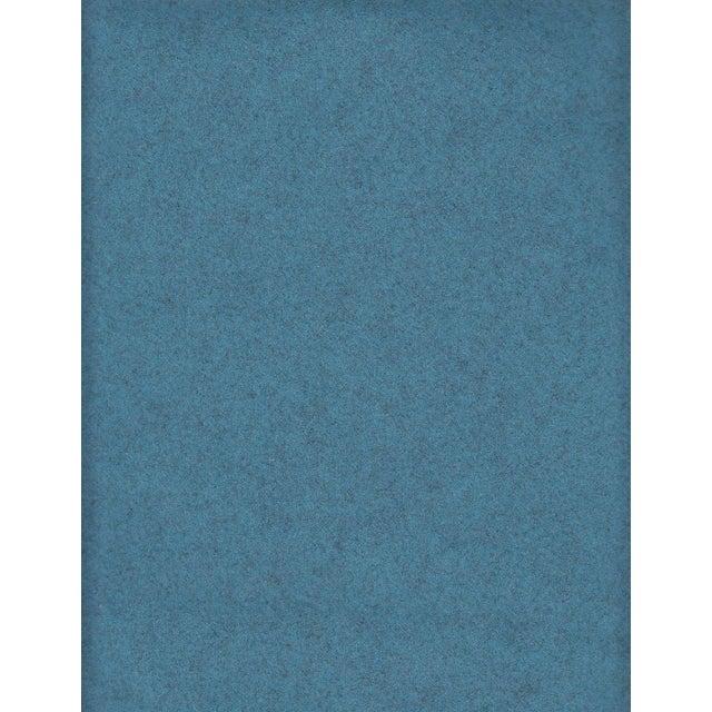 Maharam Kvadrat Blue Divina Melange Wool Fabric - 3.375 Yards - Image 2 of 2