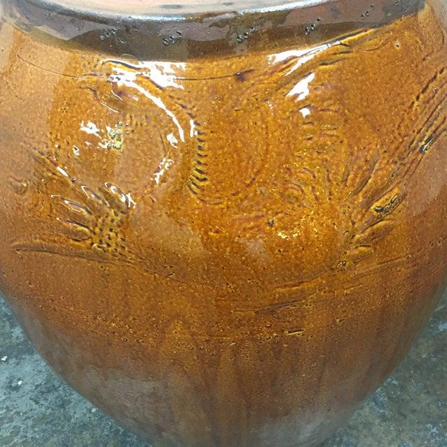 Large Glazed Finish Pottery - Image 8 of 9