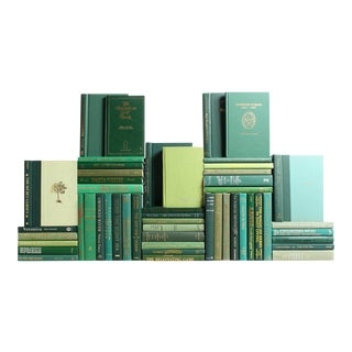Modern Green Book Wall, S/50