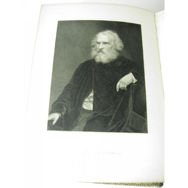 The Poetical Works of Henry Wadsworth Longfellow Illustrated For Sale - Image 6 of 13