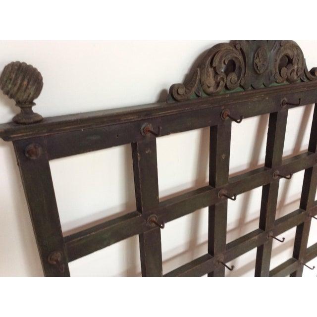 Antique french hotel key rack chairish - Vintage hotel key rack ...