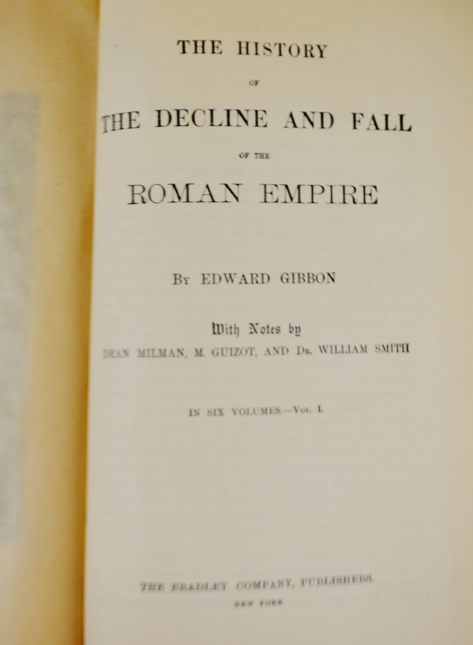 a description of the history of the decline and fall of the roman empire Decline and fall of the roman empire  description: the roman empire  1 period of revival 3 fall of the western part of the empire to invaders.
