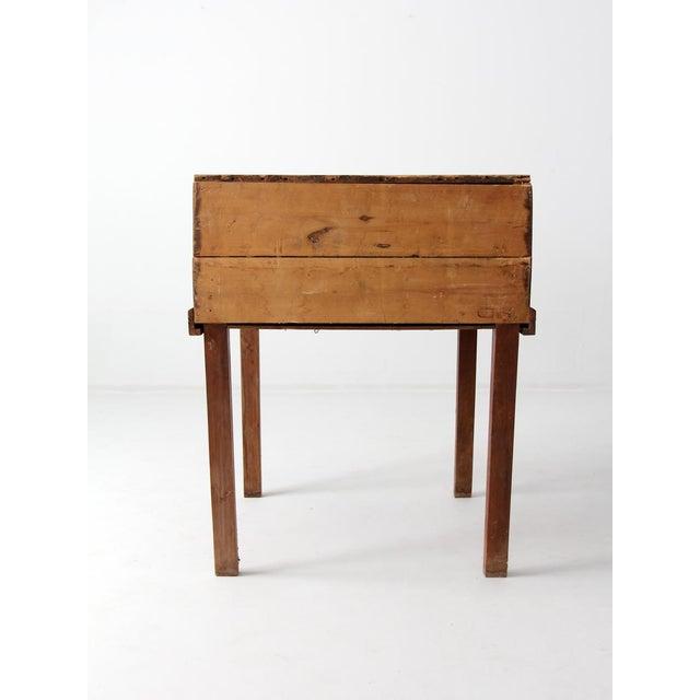 Boho Chic Antique Slant Top Desk For Sale - Image 3 of 10 - Antique Slant Top Desk Chairish
