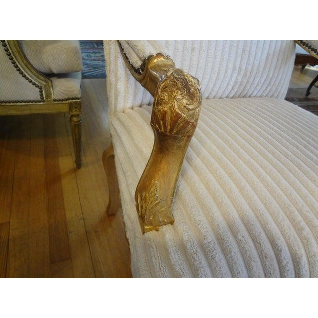 18th Century French Régence Giltwood Chair For Sale - Image 10 of 13