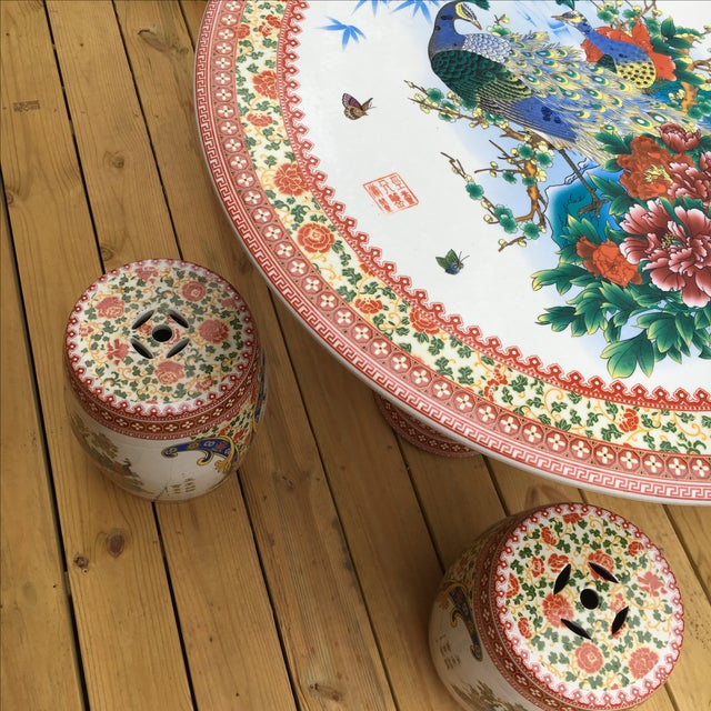 Asian Multi-Use Concrete Set (Garden) For Sale In Nashville - Image 6 of 11