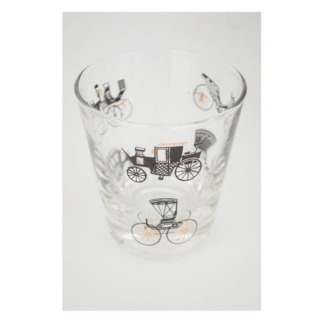 Libbey Glass Co. Libbey Curio/Carriage & Buggy Highball & Rocks Glasses - Set of 10 For Sale - Image 4 of 7