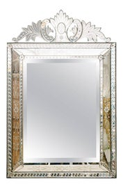 Image of Shabby Chic Mantel and Fireplace Mirrors