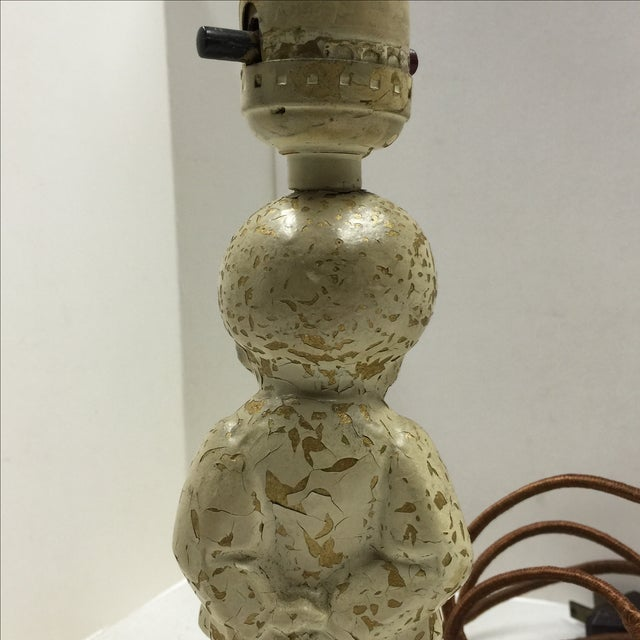1920s Shabby Chic Child's Bedroom Lamp For Sale In New York - Image 6 of 9