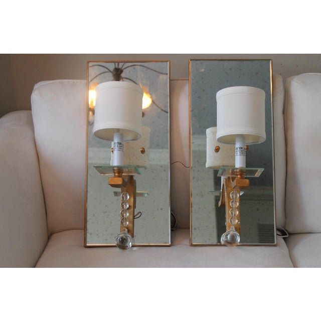 Worlds Away Bette G Sconces - A Pair For Sale - Image 9 of 13
