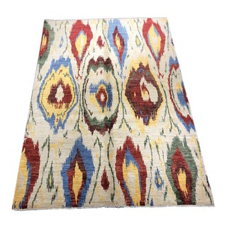 "Bellwether Rugs ""Fran"" Ikat Rug - 5'6""x7'11"" For Sale"